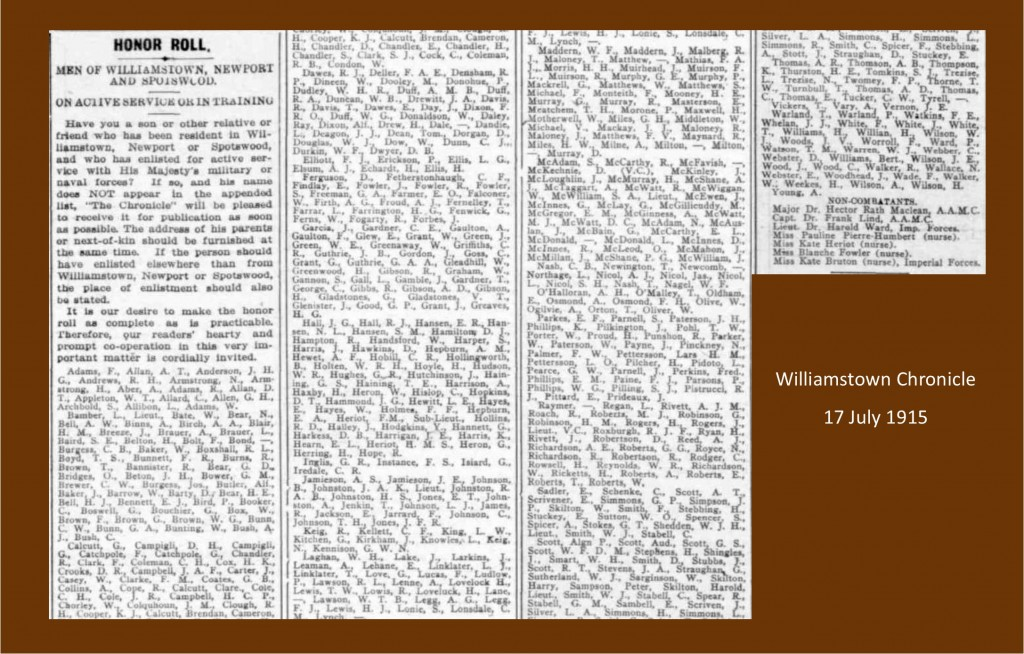 1915 Honour roll_all enlistees_high res